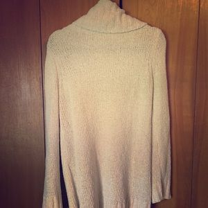 Target Long Turtleneck Sweater: Ivory